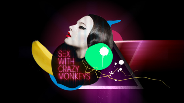 Sex with crazy monkeys